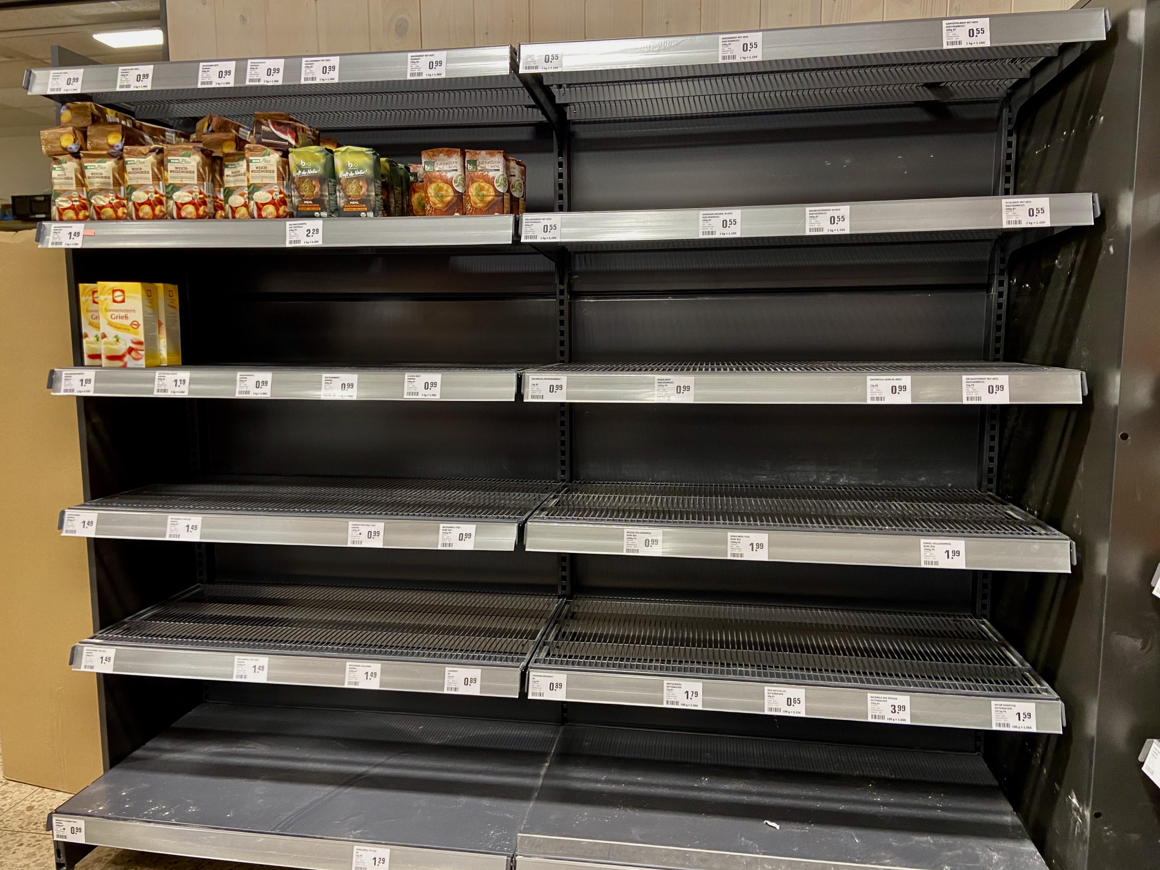 Heute in unserem Supermarkt